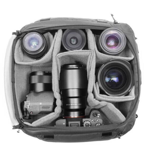 Peak Design BCC L BK 1 Travel Camera Cube for Travel Bag Large 7