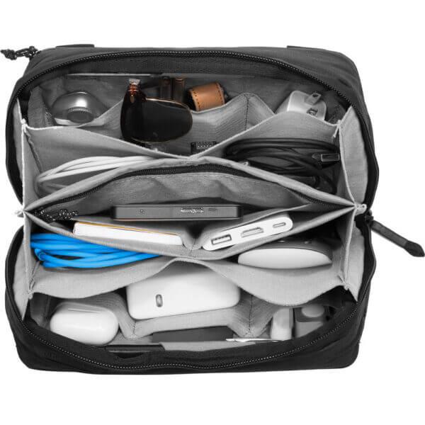 Peak Design BTP BK 1 Travel Tech Pouch for Travel Bag Black 2 1