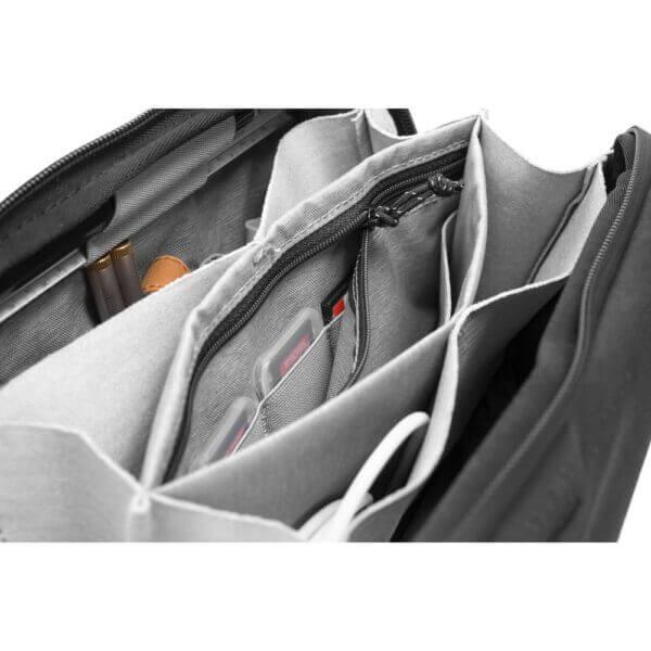 Peak Design BTP BK 1 Travel Tech Pouch for Travel Bag Black 6 1