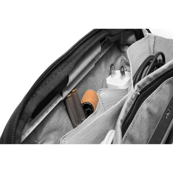 Peak Design BTP BK 1 Travel Tech Pouch for Travel Bag Black 8 1