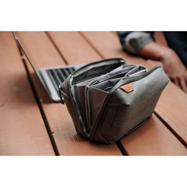 Peak Design BTP SG 1 Travel Tech Pouch for Travel Bag Sage 2