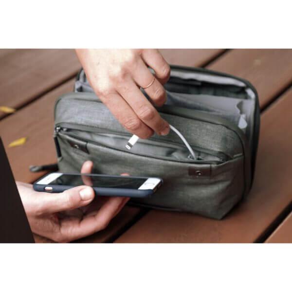 Peak Design BTP SG 1 Travel Tech Pouch for Travel Bag Sage 3