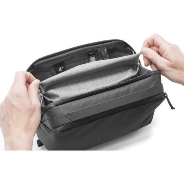 Peak Design BWP BK 1 Travel Wash Pouch for Travel Bag Black 9