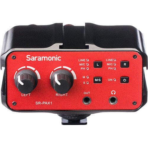 Saramonic SR PAX1 2 channel Audio Adapter for samrtphone 1