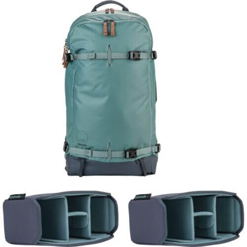Shimoda Explore 40 Backpack Starter Kit Sea Pine 1