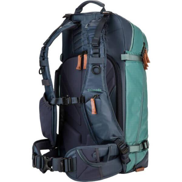Shimoda Explore 40 Backpack Starter Kit Sea Pine 10