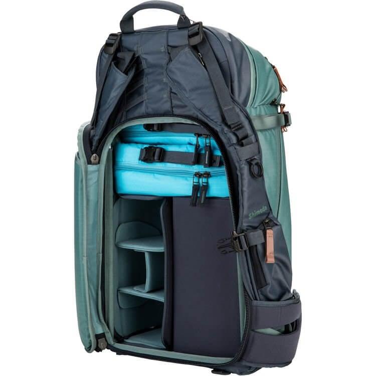 Shimoda Explore 40 Backpack Starter Kit Sea Pine 12