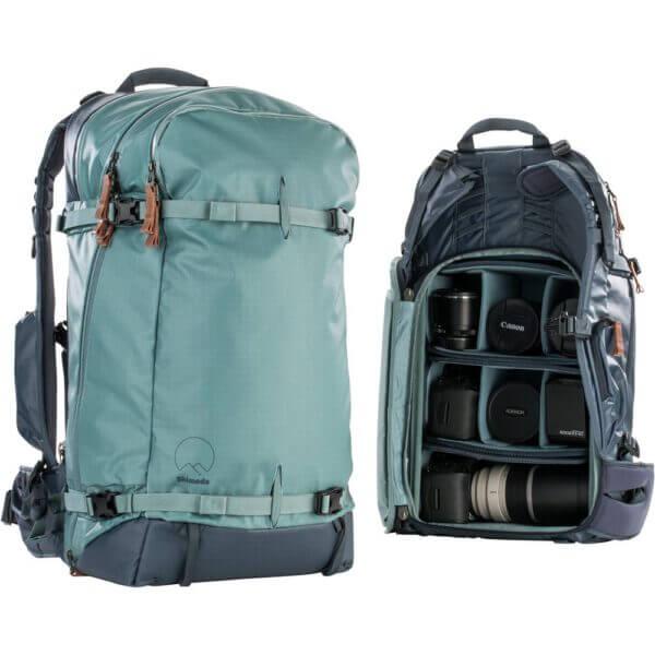 Shimoda Explore 40 Backpack Starter Kit Sea Pine 13