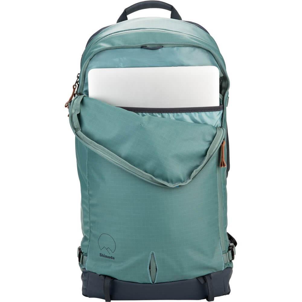 Shimoda Explore 40 Backpack Starter Kit Sea Pine 15