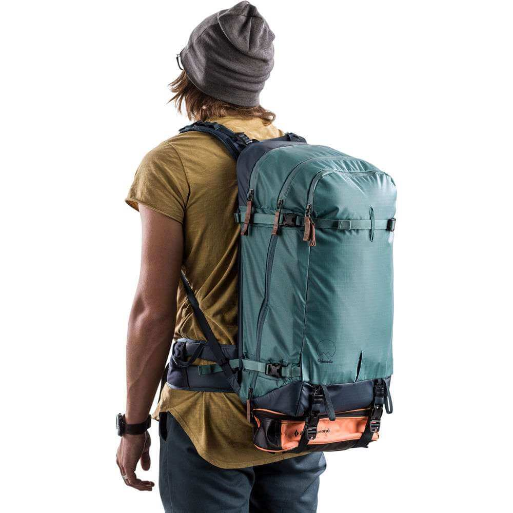 Shimoda Explore 40 Backpack Starter Kit Sea Pine 18