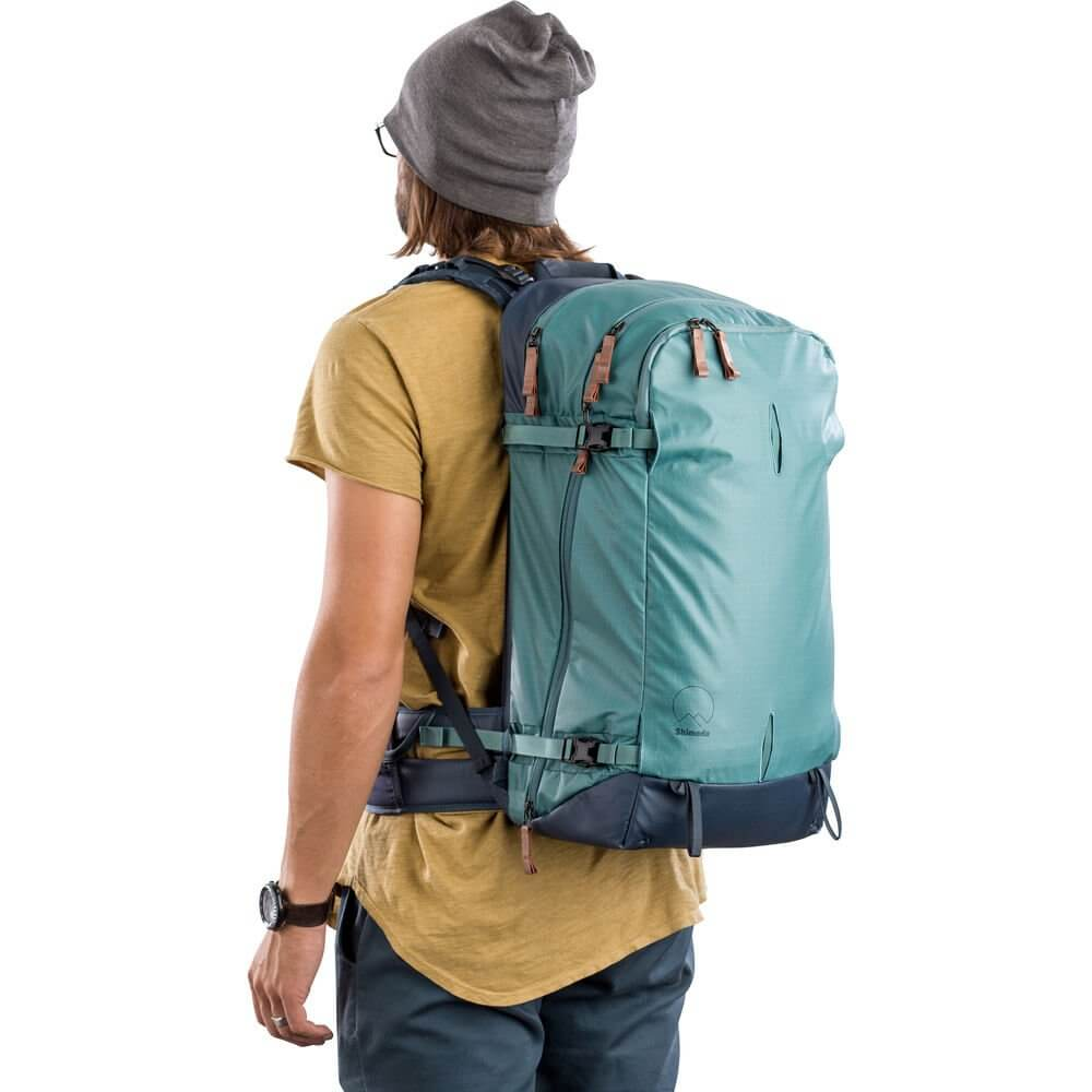 Shimoda Explore 40 Backpack Starter Kit Sea Pine 21