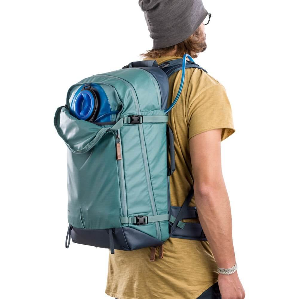 Shimoda Explore 40 Backpack Starter Kit Sea Pine 22