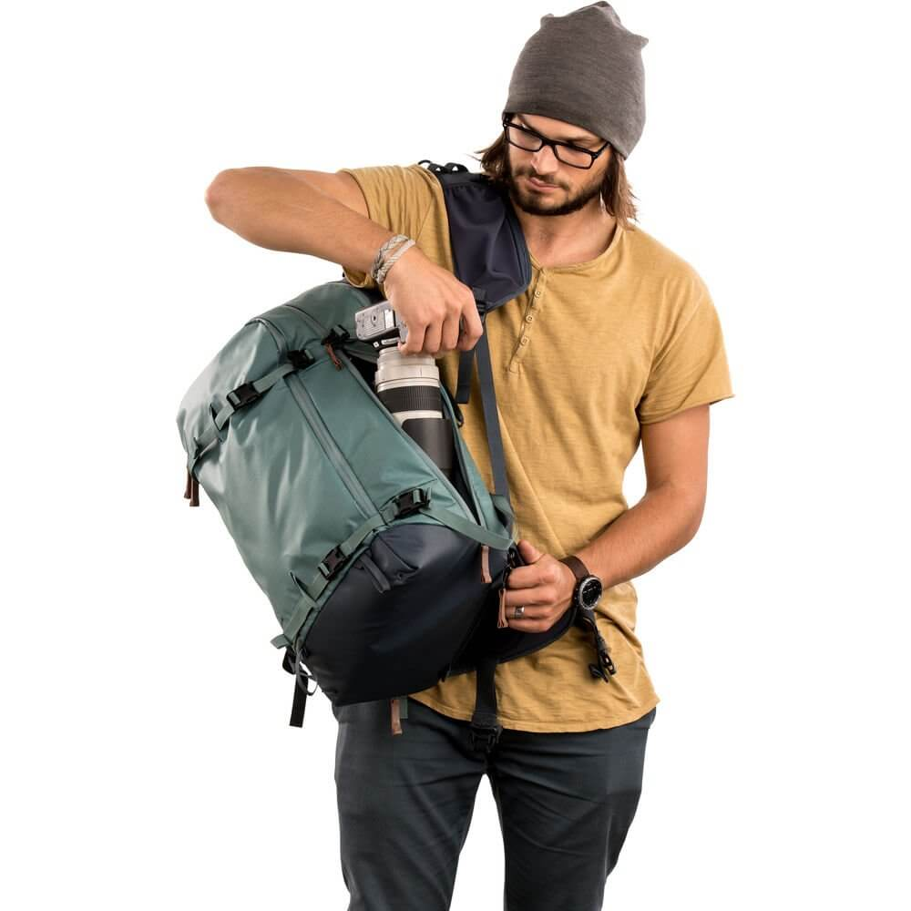 Shimoda Explore 40 Backpack Starter Kit Sea Pine 23