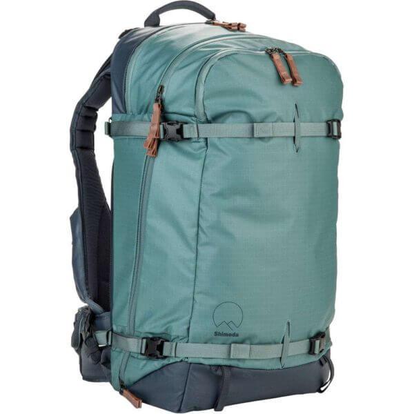 Shimoda Explore 40 Backpack Starter Kit Sea Pine 3