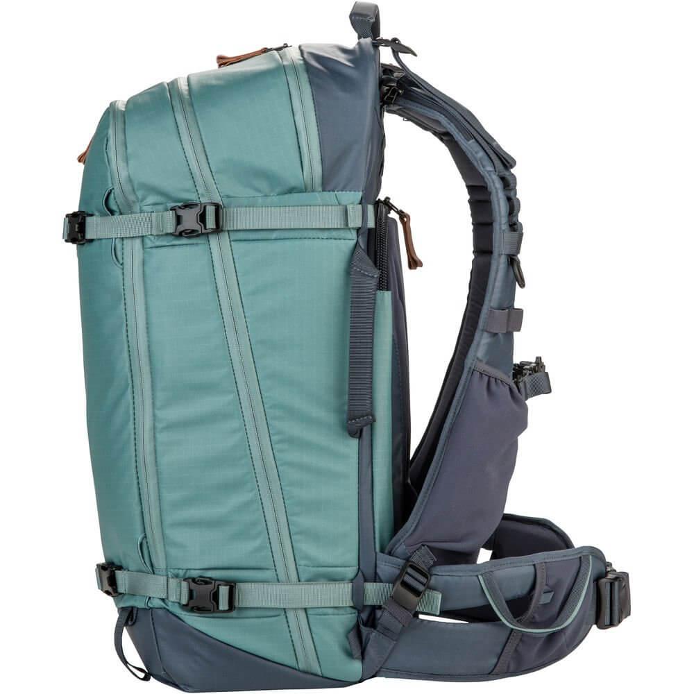 Shimoda Explore 40 Backpack Starter Kit Sea Pine 7