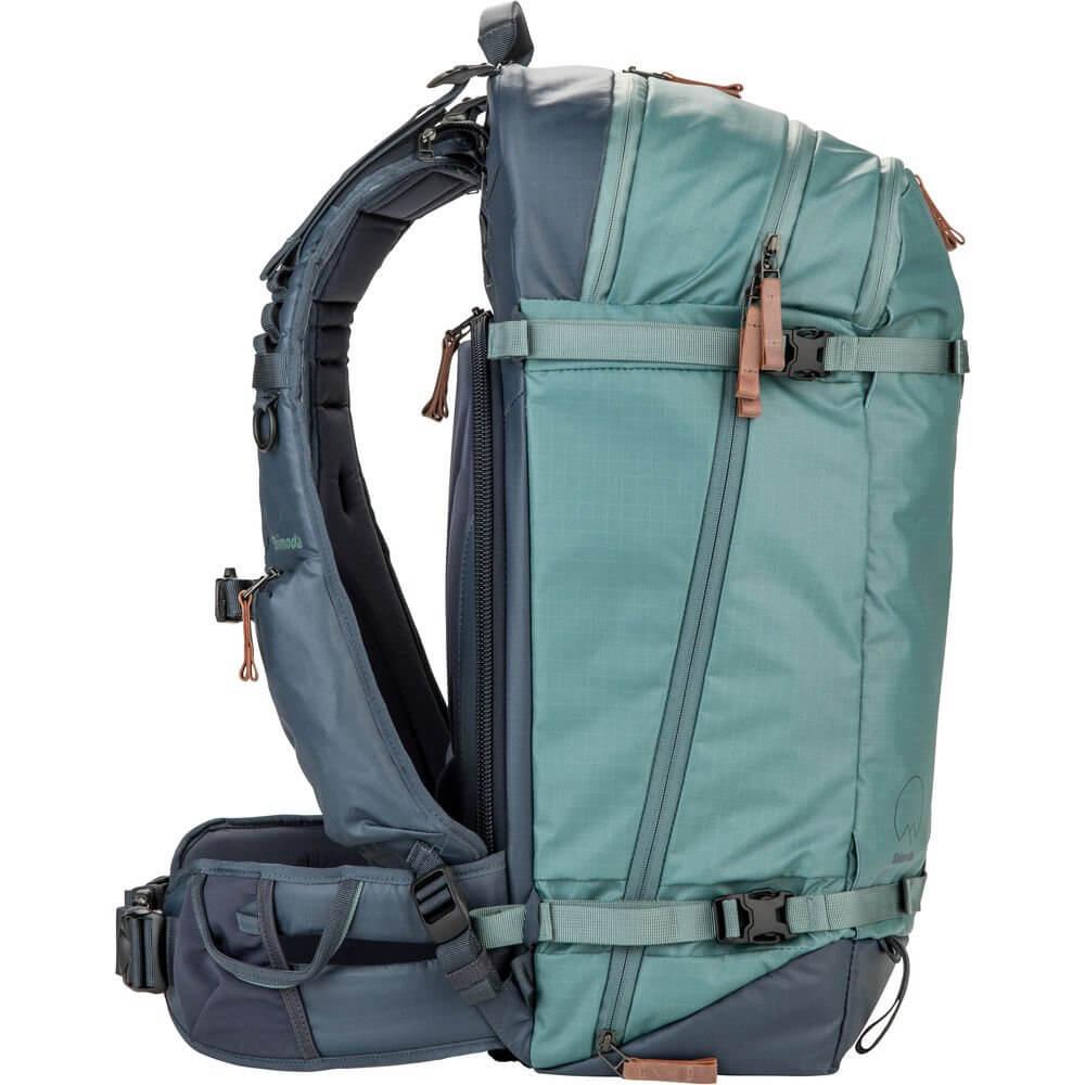 Shimoda Explore 40 Backpack Starter Kit Sea Pine 8