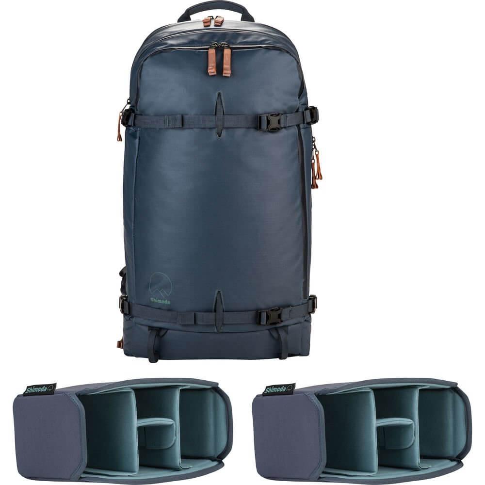 Shimoda SH 520 003 Explore 40 Backpack Starter Kit Blue Night 1
