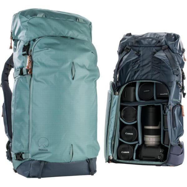 Shimoda SH 520 014 Explore 60 Backpack Starter Kit Sea Pine 17