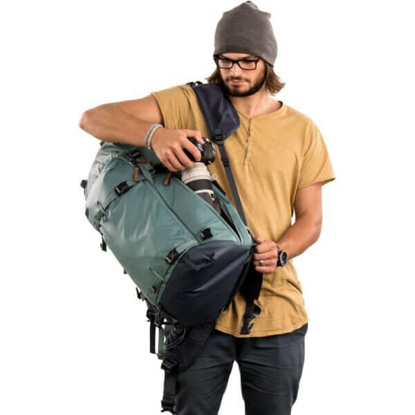 Shimoda SH 520 014 Explore 60 Backpack Starter Kit Sea Pine 24