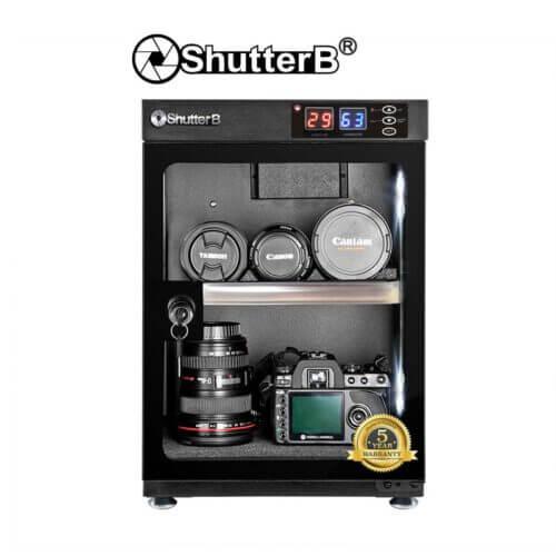 Shutter B SB 35S Automatic Dry Cabinet Black 1