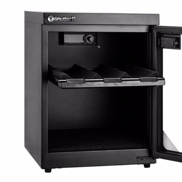 Shutter B SB 35S Automatic Dry Cabinet Black 2