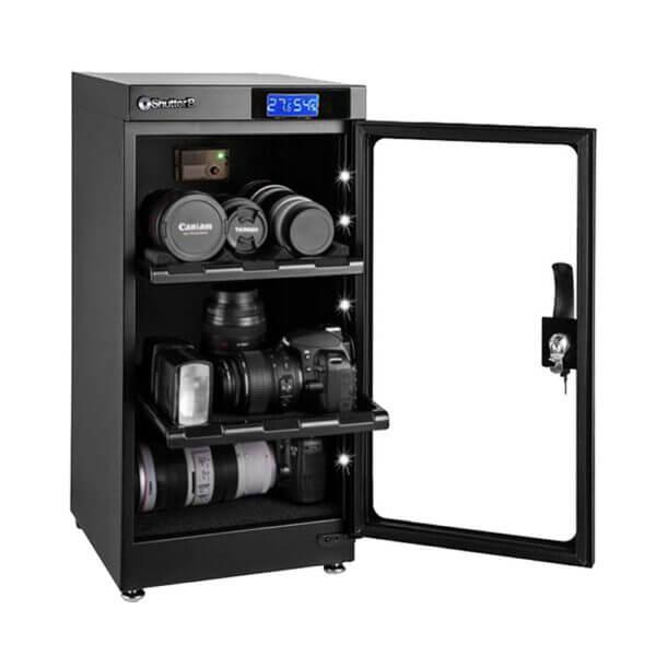 Shutter B SB 50C Manual Dry Cabinet Black 2