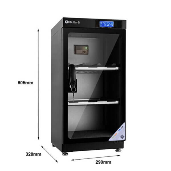 Shutter B SB 50C Manual Dry Cabinet Black 3