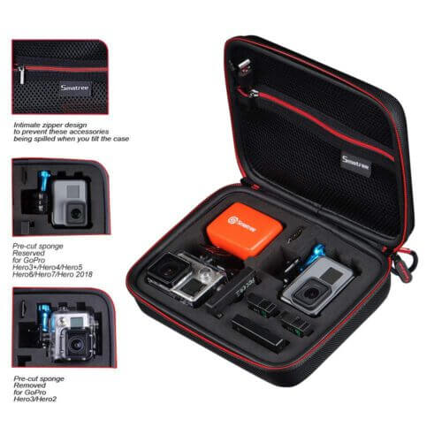 Smatree G160 SmaCase for Gopro Accessories Black 1
