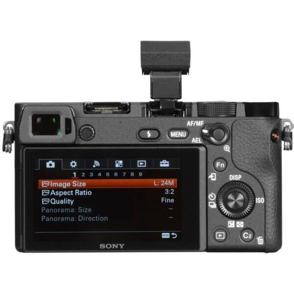 Sony Alpha A6300 Body Black 16