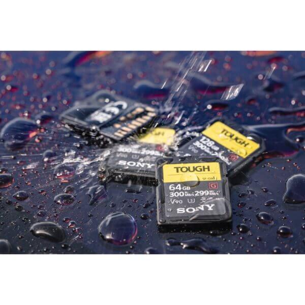 Sony G Tough Series SF G128T T1 SDXC 128GB UHS II U3 V90 R300 W299 10