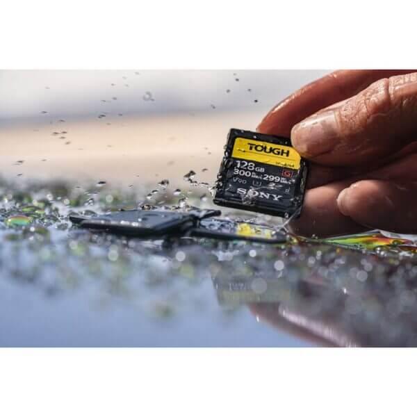 Sony G Tough Series SF G128T T1 SDXC 128GB UHS II U3 V90 R300 W299 3