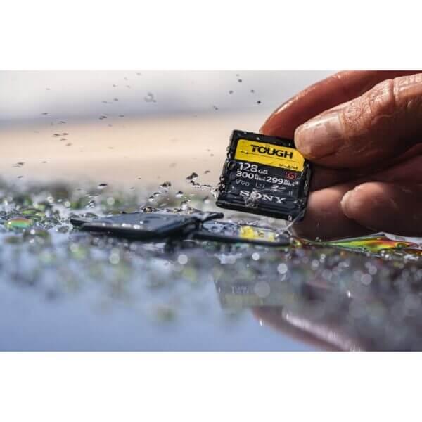 Sony G Tough Series SF G128T T1 SDXC 128GB UHS II U3 V90 R300 W299 5