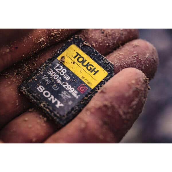 Sony G Tough Series SF G64T T1 SDXC 64GB UHS II U3 V90 R300 W299 3