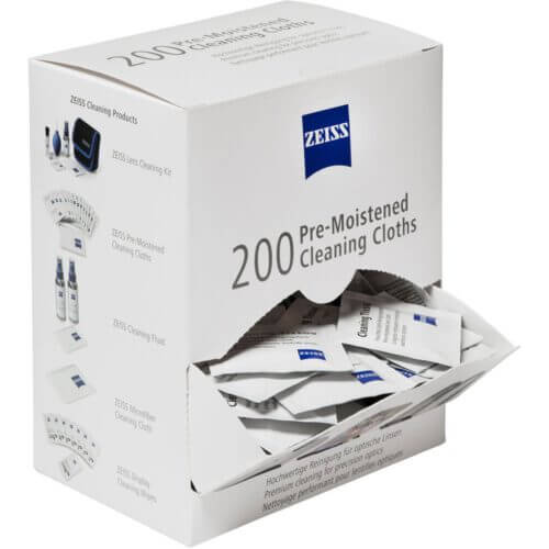 Zeiss Pre Moistened Cleaning Cloths 1
