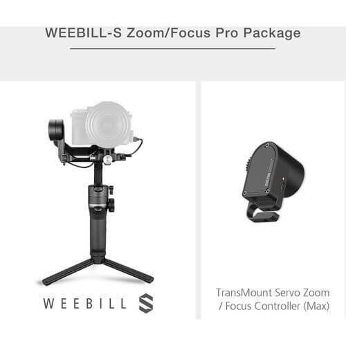 Zhiyun WEEBILL S Servo Package 2
