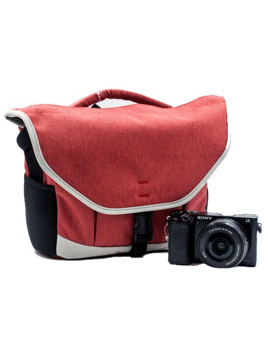 Benro Smart CSC 20 Mirrorless Shoulder Bag Orange 1