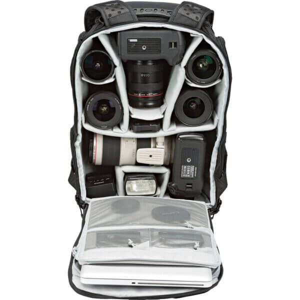 Lowepro ProTactic 450 AW Camera and Laptop 7