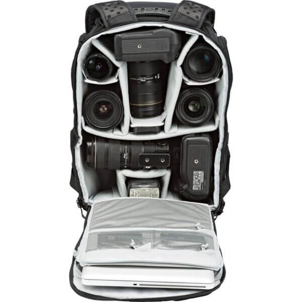 Lowepro ProTactic 450 AW Camera and Laptop 8