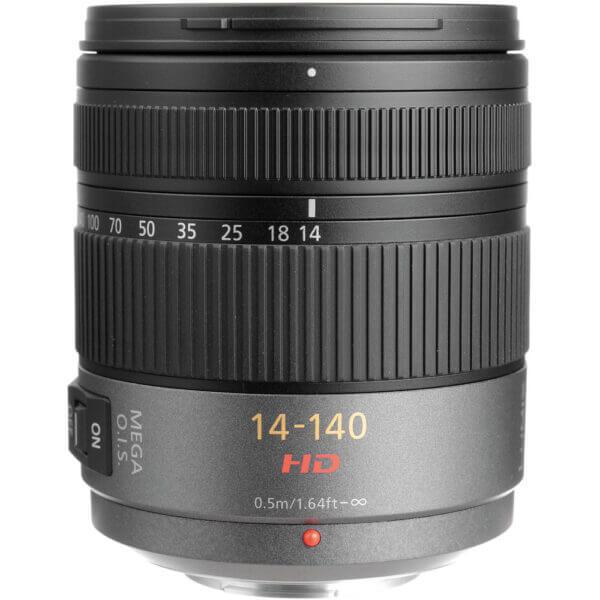 Panasonic Lens 14 140mm F3.5 5.6 ASPH O.I.S Black ประกันศูนย์ 2