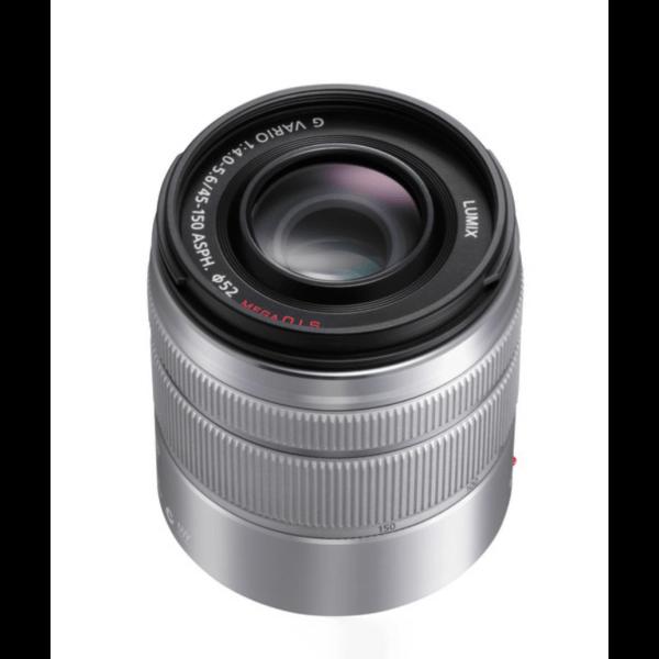 Panasonic Lens 45 150mm f4.0 5.6 Lumix G Vario Silver ประกันศูนย์ 1 1