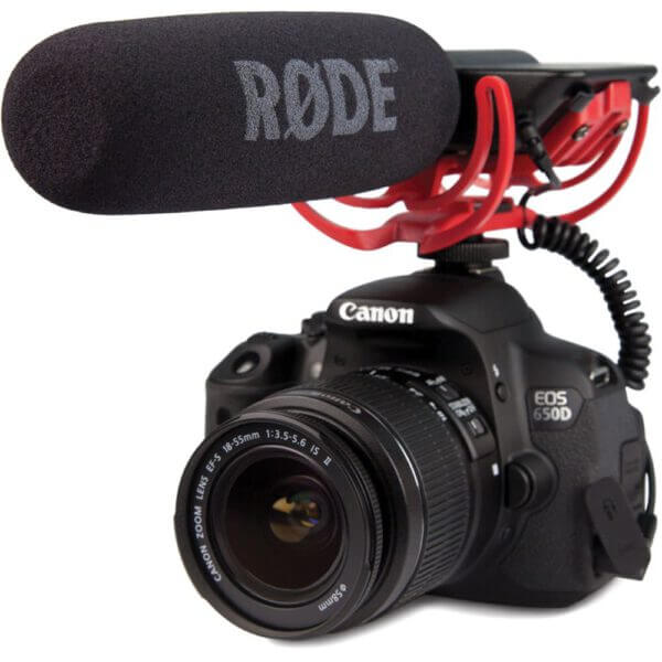 Rode VideoMic Rycote with Rycote Lyre Suspension System 2