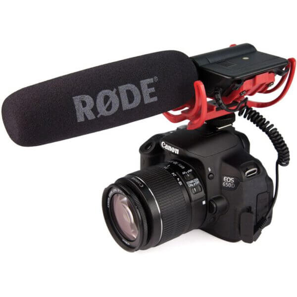Rode VideoMic Rycote with Rycote Lyre Suspension System 3
