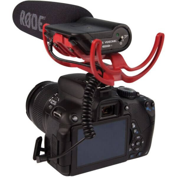 Rode VideoMic Rycote with Rycote Lyre Suspension System 4