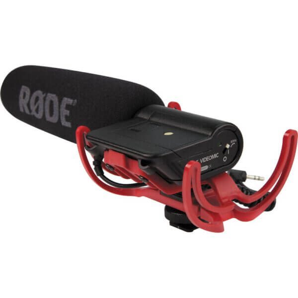 Rode VideoMic Rycote with Rycote Lyre Suspension System 5