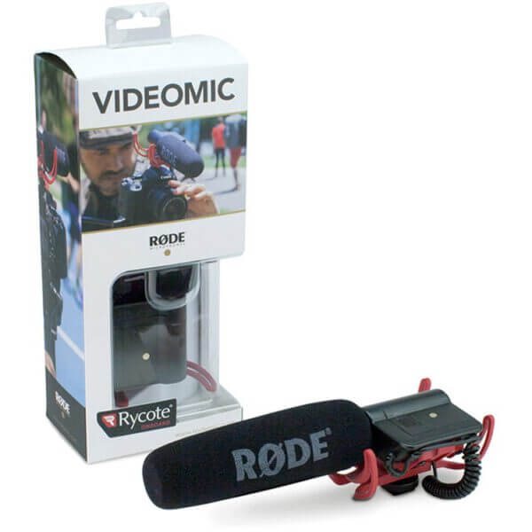 Rode VideoMic Rycote with Rycote Lyre Suspension System 7