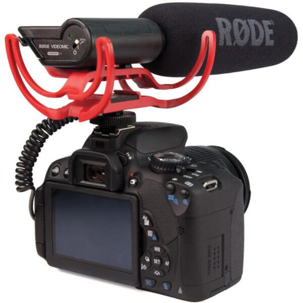 Rode VideoMic Rycote with Rycote Lyre Suspension System 8