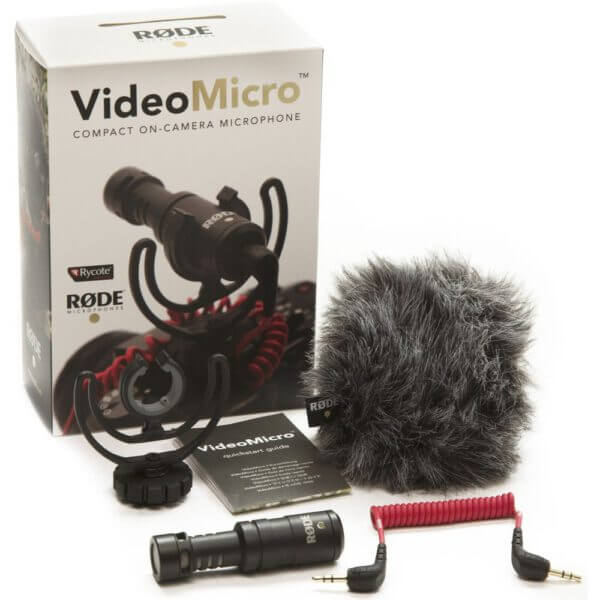 Rode VideoMicro On Camera Microphone 4