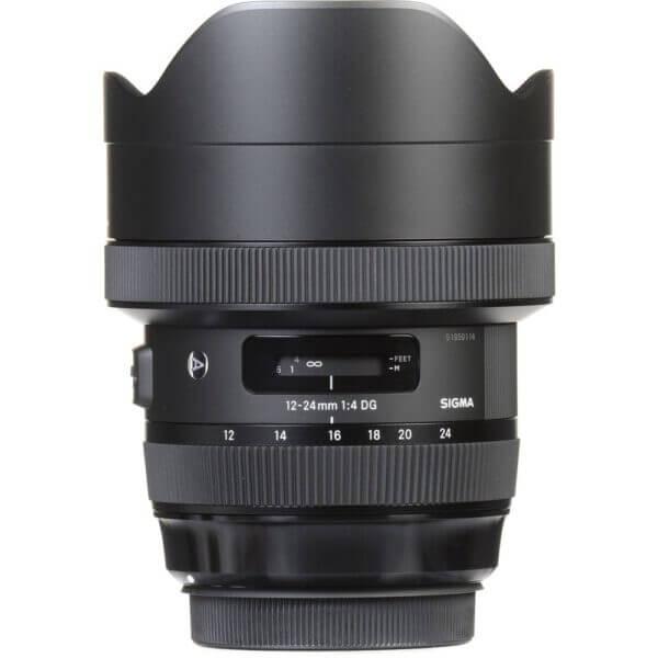 Sigma 12 24mm f4 DG HSM Art Lens for Canon EF 8
