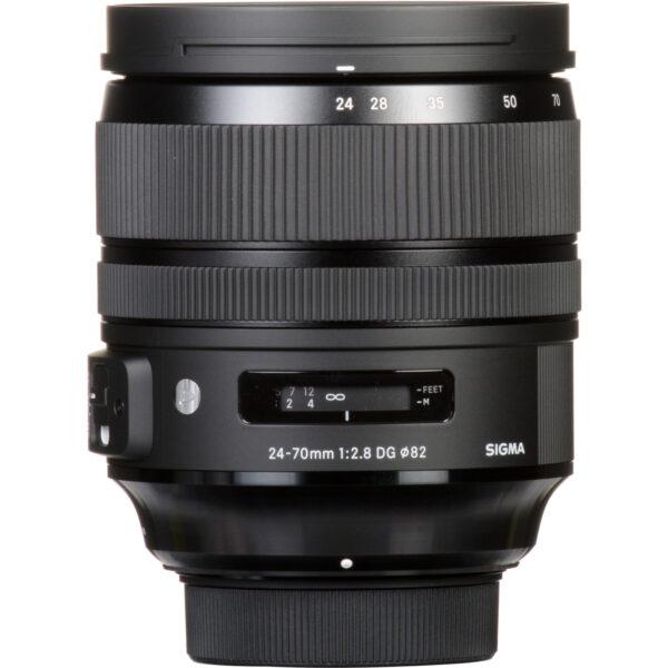 Sigma 24 70mm f2.8 DG OS HSM Art Lens 6