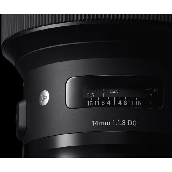 Sigma Lens 14mm F1.8 A DG HSM for Canon ประกันศูนย์ 3